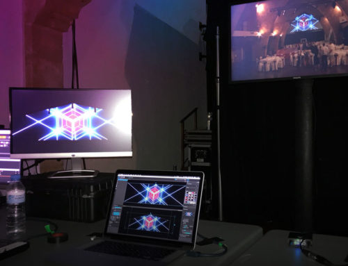 Un poco de video mapping en Mallorca